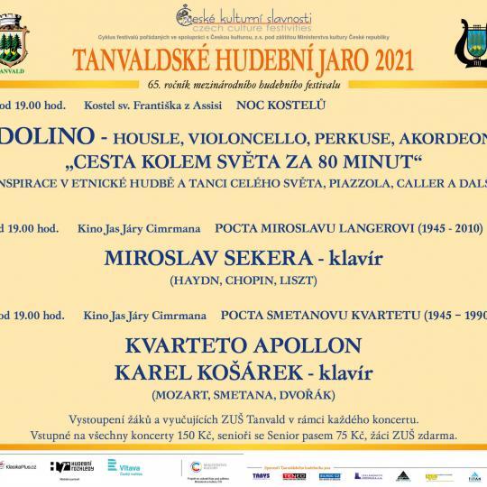 Tanvaldské hudební jaro 2021 1
