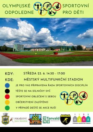 Tanvald - Olympijské sportovní odpoledne pro děti 1
